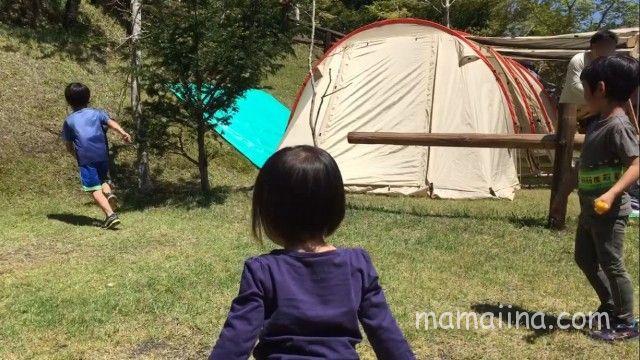 御殿場まるびオートキャンプ場のキャンプサイト
