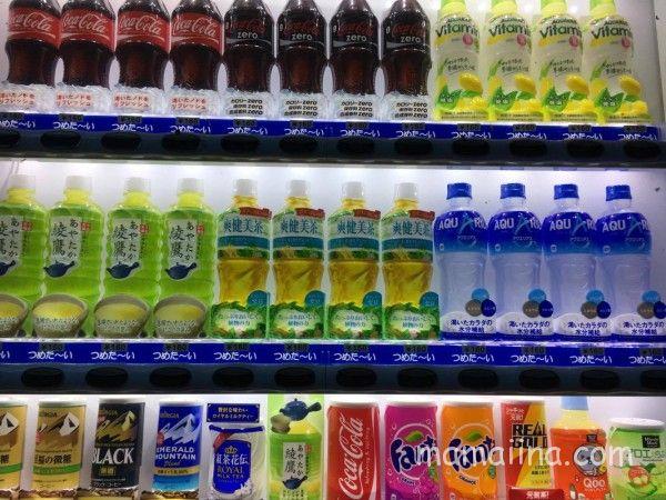 神之川キャンプ場の自動販売機