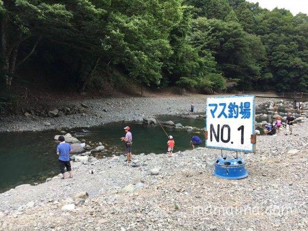 マス釣り情の区画