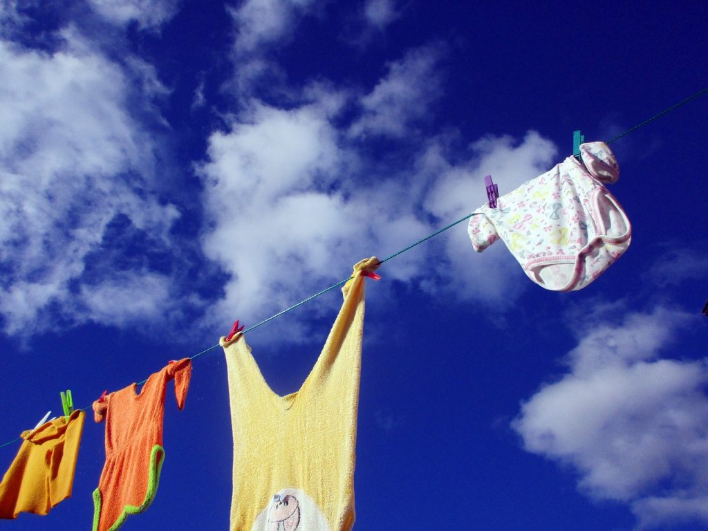 保育園児の洗濯物は大量