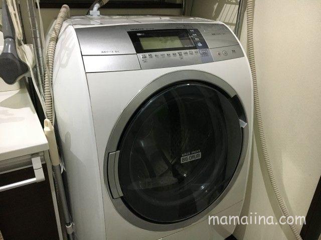 ドラム式自動洗濯乾燥機