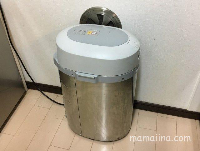 わが家のキッチンにある生ごみ処理機