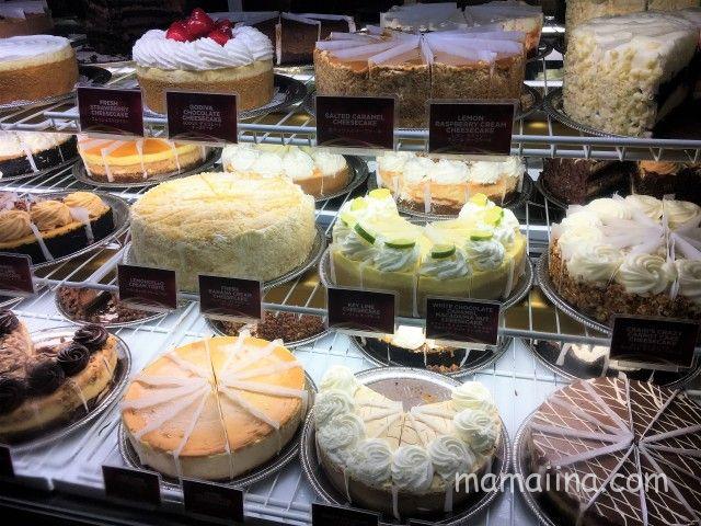 チーズケーキファクトリー@ワイキキのおすすめメニュー チーズケーキ