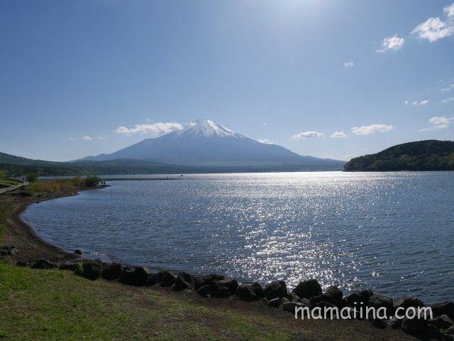 交流プラザきらら 富士山と山中湖