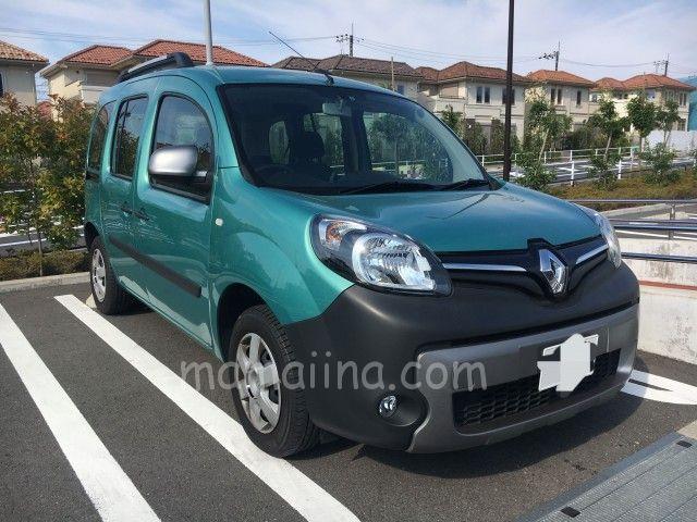 カングー購入記 限定色 特別仕様車