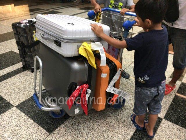 シンガポール トランジットホテル 荷物
