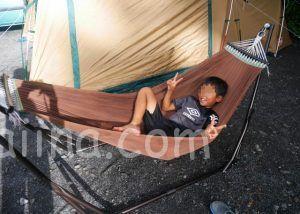 カングー キャンプ ハンモック