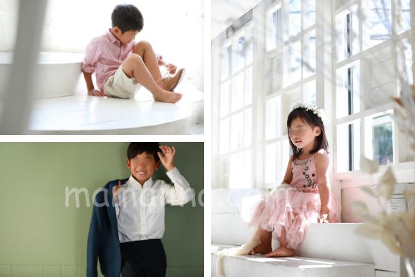 結婚記念日 毎年集める家族写真