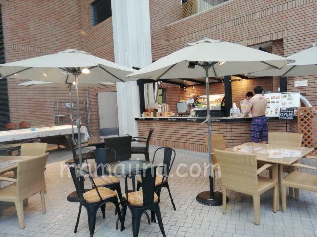 星野リゾートトマム ミナミナビーチ 食事カフェ
