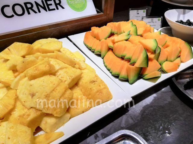 クラブメッドトマムの食事 フルーツ