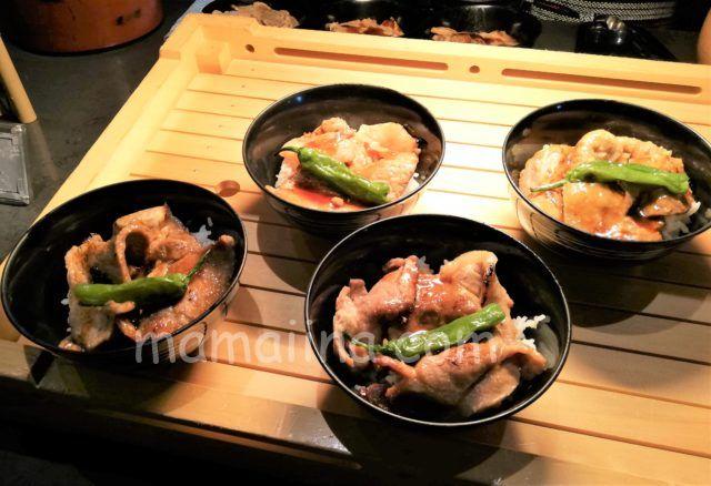クラブメッドトマムの食事 豚丼