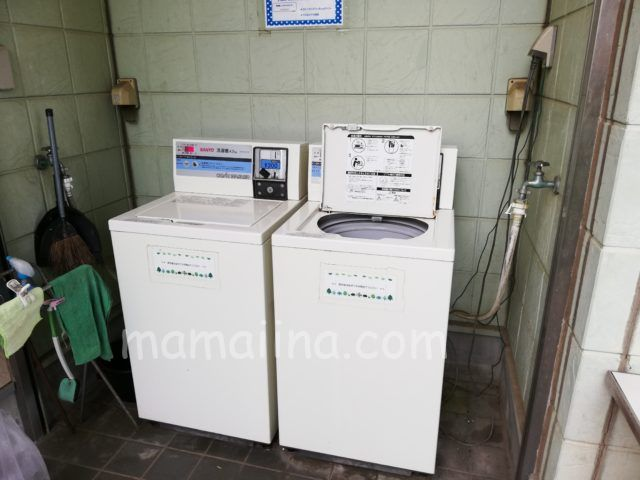 大洗サンビーチキャンプ場 洗濯機