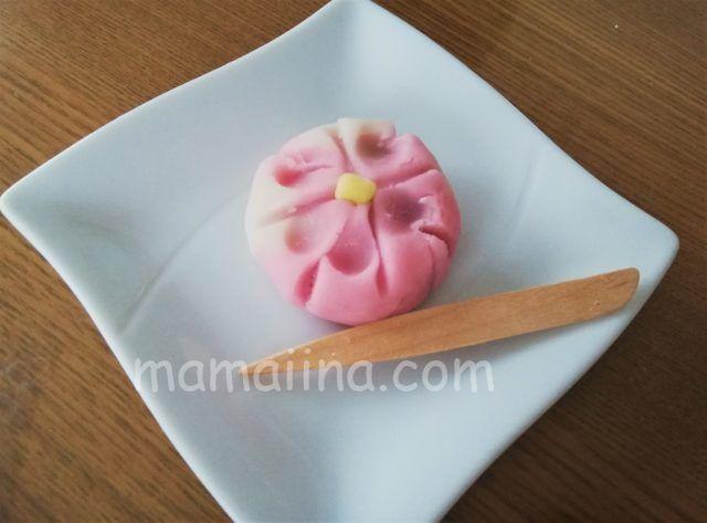 和菓子の練り切り体験 子供の作品