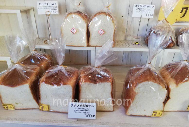 テクノパンの食パン