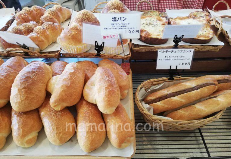 テクノパンの種類豊富なパン