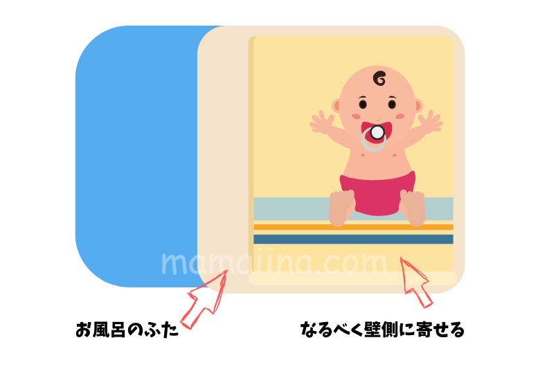 3人育児お風呂のコツ